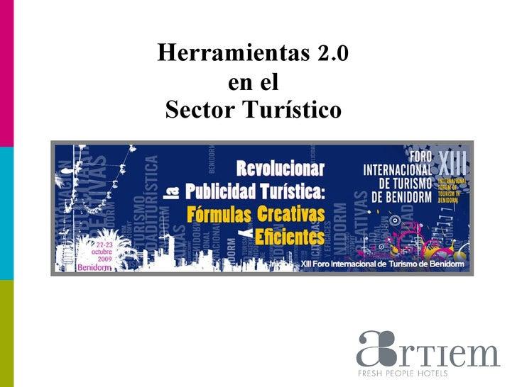Herramientas 2.0  en el  Sector Turístico