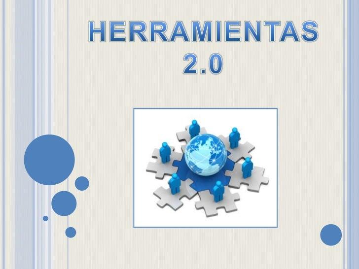 HERRAMIENTAS<br />2.0<br />