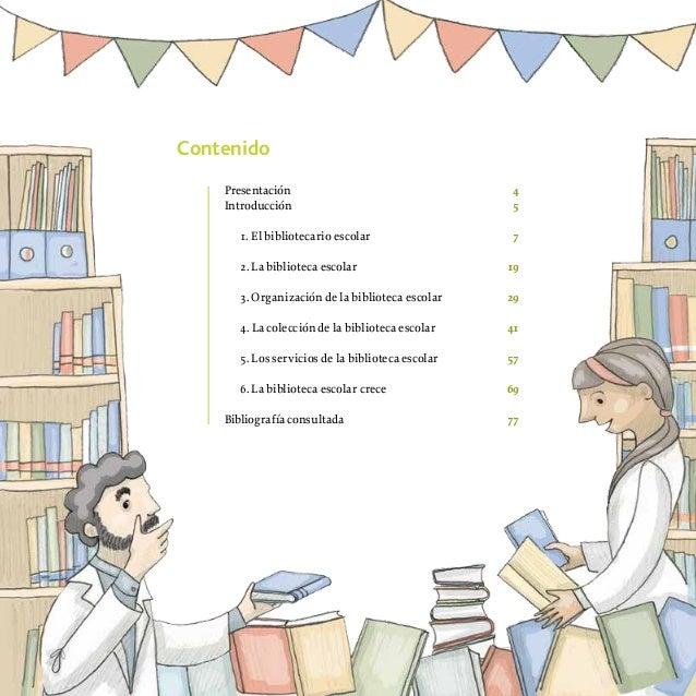 Herramientas para la BIBLIOTECA escolar I - La biblioteca como espac…