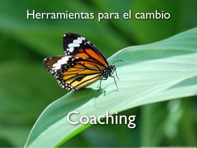 Herramientas para el cambio  Coaching http://www.flickr.com/photos/50899382@N06/4782831251