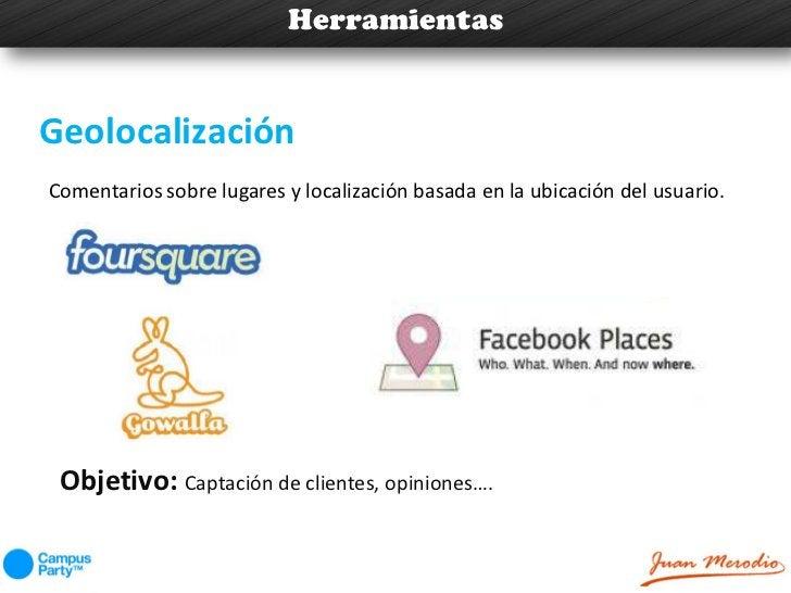 HerramientasGeolocalizaciónComentarios sobre lugares y localización basada en la ubicación del usuario. Objetivo: Captació...