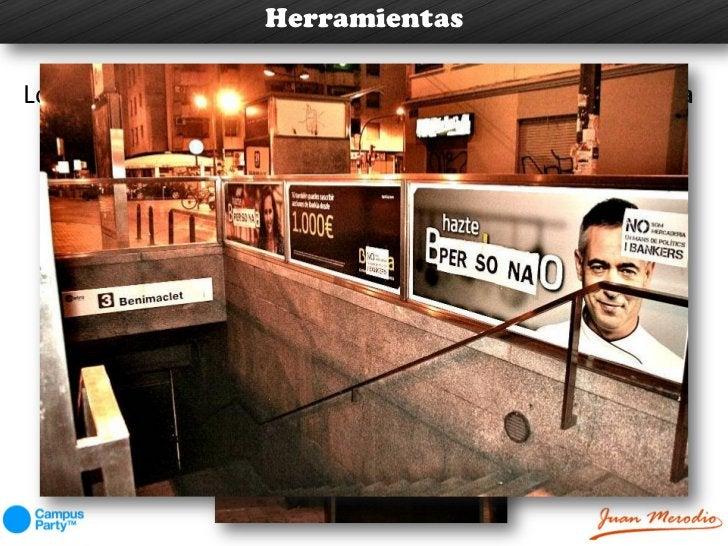 HerramientasLos carteles de la ciudad de Valencia sustitutían la palabra                Bankero por la de persona.     No ...