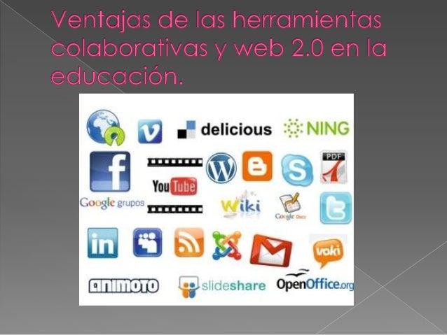 Herramientas colaborativas y web 2.0 Slide 2