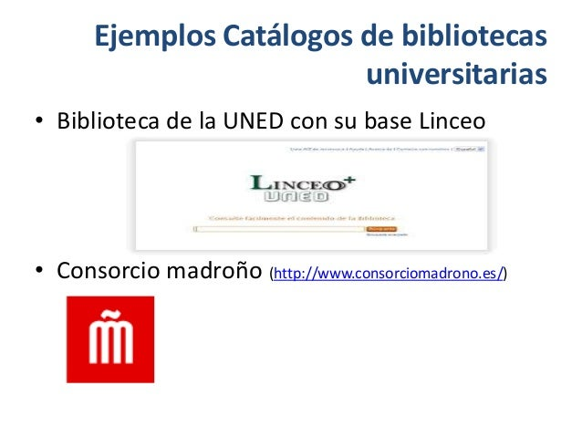 Herramientas para b squeda de informaci n cient fica for Uned biblioteca catalogo