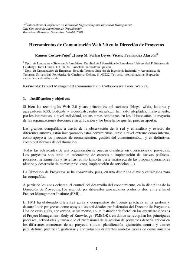 3rd International Conference on Industrial Engineering and Industrial ManagementXIII Congreso de Ingeniería de Organizació...