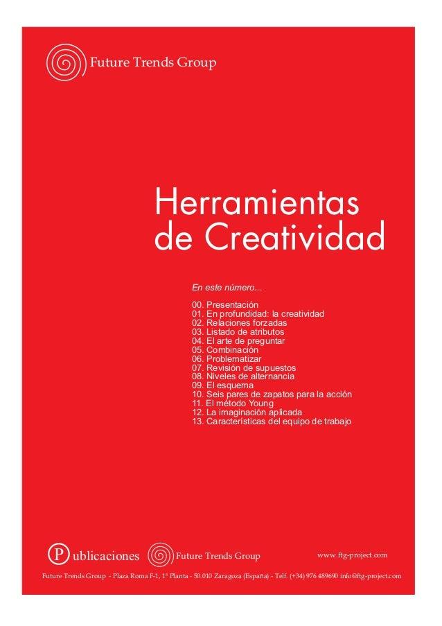 Herramientas de creatividad