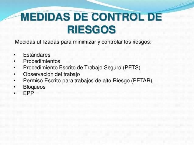 Herramientas de gestión y medidas de control de riesgos - photo#39
