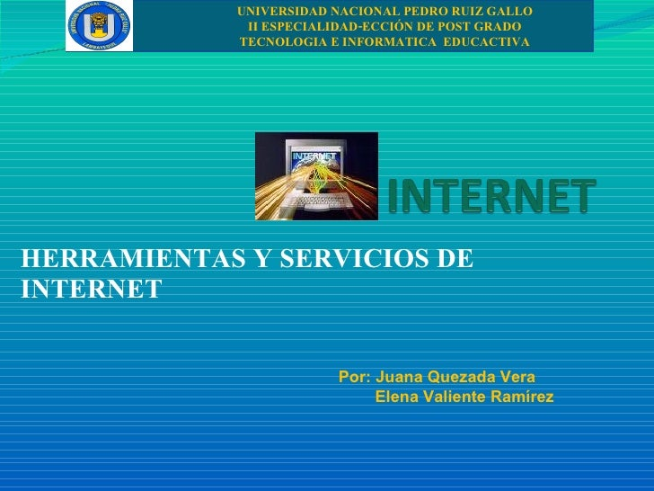 UNIVERSIDAD NACIONAL PEDRO RUIZ GALLO              II ESPECIALIDAD-ECCIÓN DE POST GRADO             TECNOLOGIA E INFORMATI...