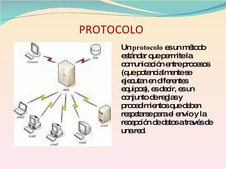 PROTOCOLO      Un protocolo e un m to o                    s    é d      e tá a q p rm la       s nd r ue e ite      c m a...