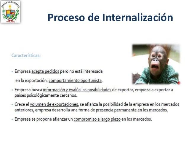 Proceso de Internalización