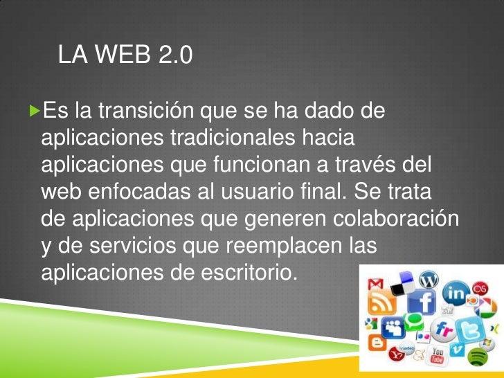 Herramientas de la web 2.0 informatica Slide 2