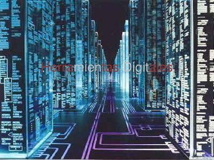 Herramientas Digitales<br />