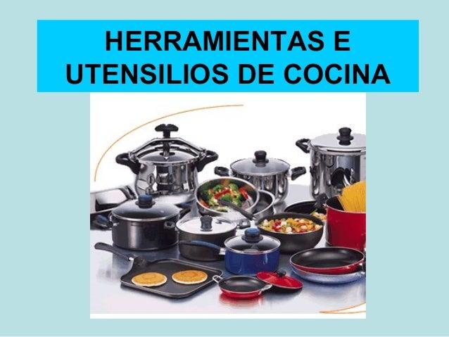 Herramientas e utensilios de cocina2 for Utensilios para chef