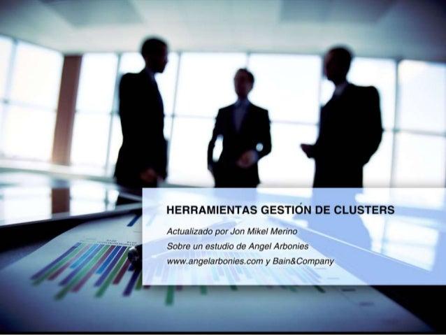 Herramientas gestion clusters april 2015
