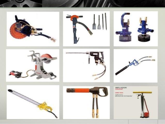 Tipos de herramientas hidráulicas
