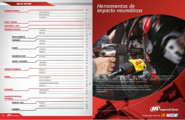 02 Tabla de contenido 17Patrocinador oficial de Herramientas de impacto neumáticas Durante más de cien años, los profesiona...