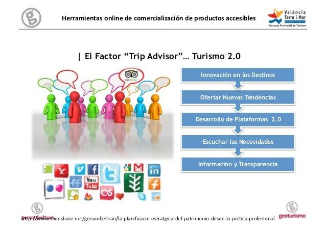 """Herramientas online de comercialización de productos accesibles           Decisión   El Factor """"Trip Advis..."""