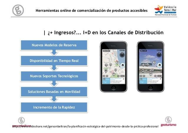 Herramientas online de comercialización de productos accesibles           Reserva   ¿+ Ingresos?... I+D en...