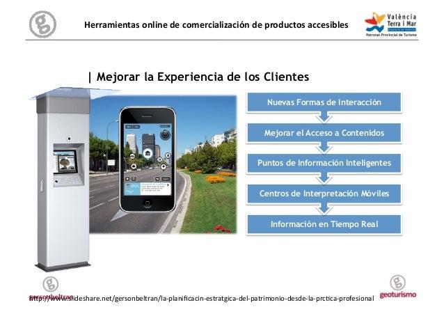 Herramientas online de comercialización de productos accesibles           Viaje   Mejorar la Experiencia d...