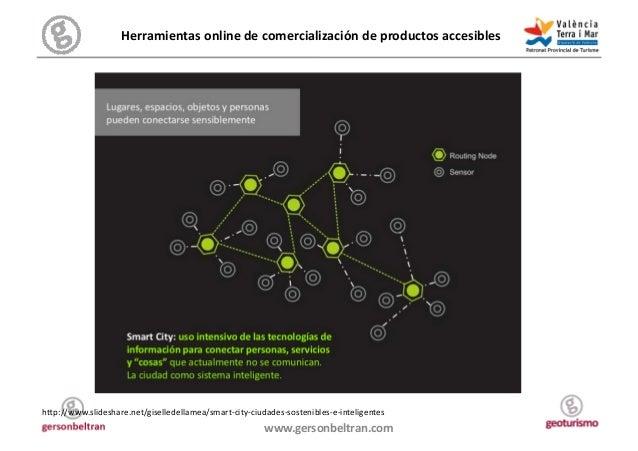 Herramientas online de comercialización de productos accesibles  h/p://www.slideshare.net/giselledellamea/...