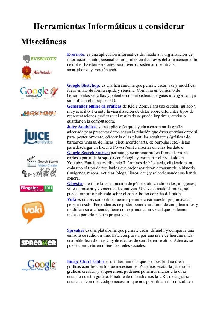 Herramientas online para compartir
