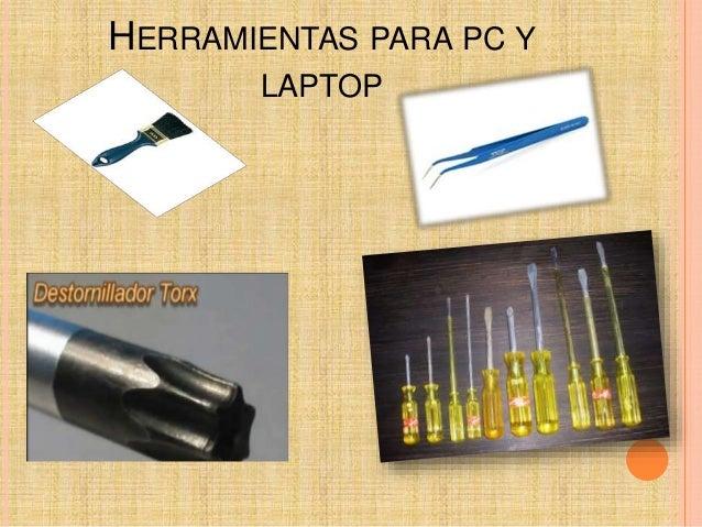 Herramientas para un mantemiento Slide 2