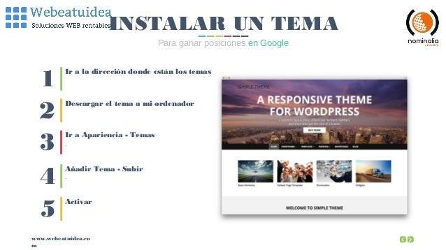 Curso WordPress: potencia tu Web con Herramientas Avanzadas