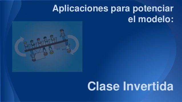Aplicaciones para potenciar el modelo: Clase Invertida