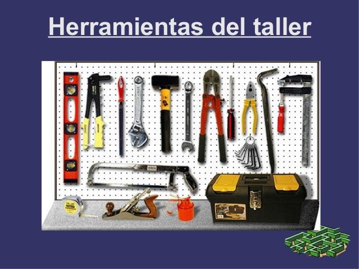 Herramientas taller for Herramientas de un vivero