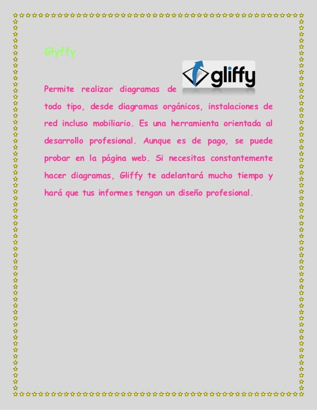 GlyffyPermite realizar diagramas detodo tipo, desde diagramas orgánicos, instalaciones dered incluso mobiliario. Es una he...