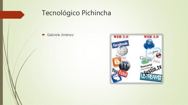 Tecnológico Pichincha  Gabriela Jiménez