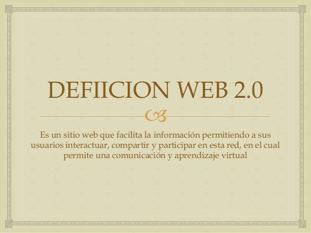 Herramientas web 2  Slide 3