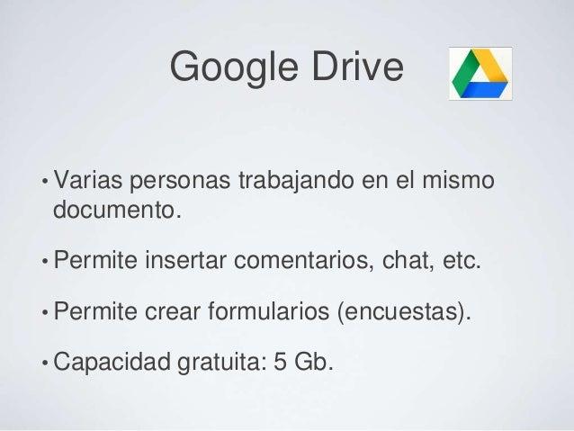 Evernote: concepto• Es una bandeja de entrada para recopilar toda nuestrainformación virtual.• Múltiples aplicaciones para...