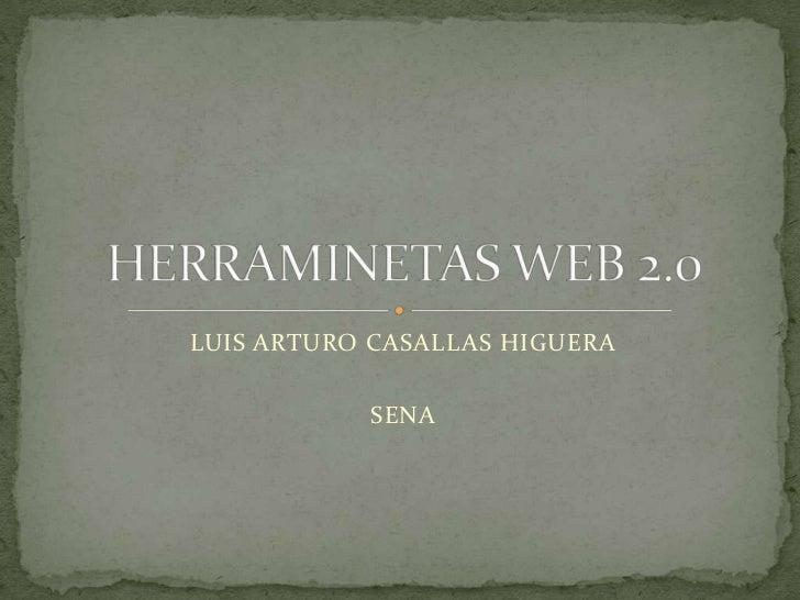 LUIS ARTURO CASALLAS HIGUERA           SENA