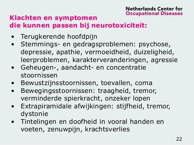 Hersenbeschadiging Door Beroepsmatige Blootstelling Nvka 25082015