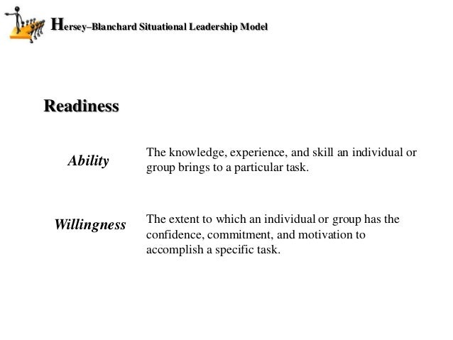 hersey blanchard situational leadership model pdf