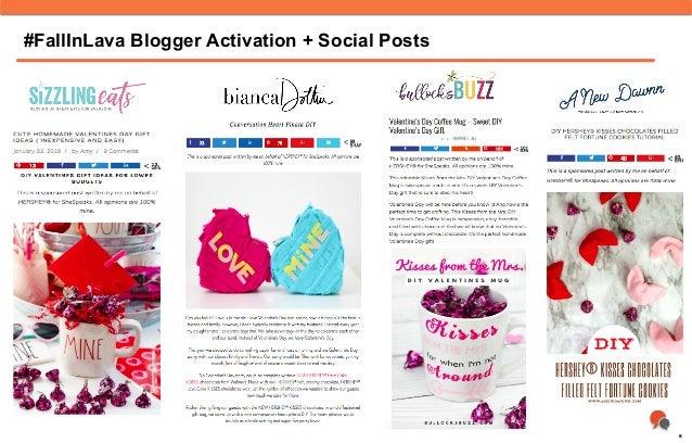 #FallInLava Blogger Activation + Social Posts 8