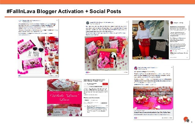 9 #FallInLava Blogger Activation + Social Posts