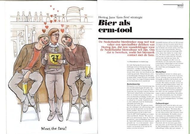 Hertog Jans fan first strategie - Tijdschrift voor Marketing