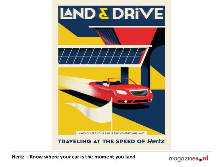Hertz – Know where your car is the moment you land
