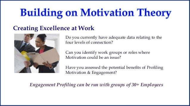 thesis on employee motivation at work Work motivation, job satisfaction, and organisational commitment of library personnel in academic and research libraries in oyo state, nigeria, adeyinka tella, co ayeni, so popoola.