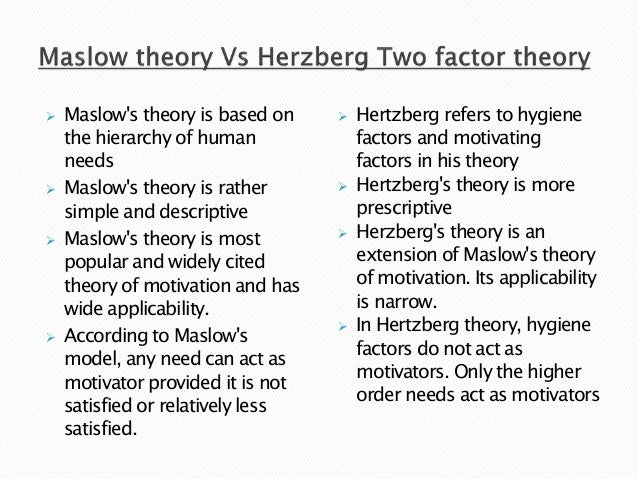 two factor theory From analyzing these interviews, he found that job characteristics related to what an individual does — that is, to the nature of the work one performs.