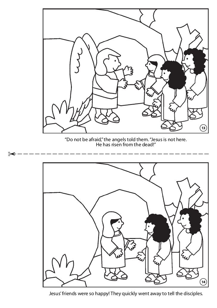 Jesus Is Alive Coloring Page Pictures To Pin On Pinterest