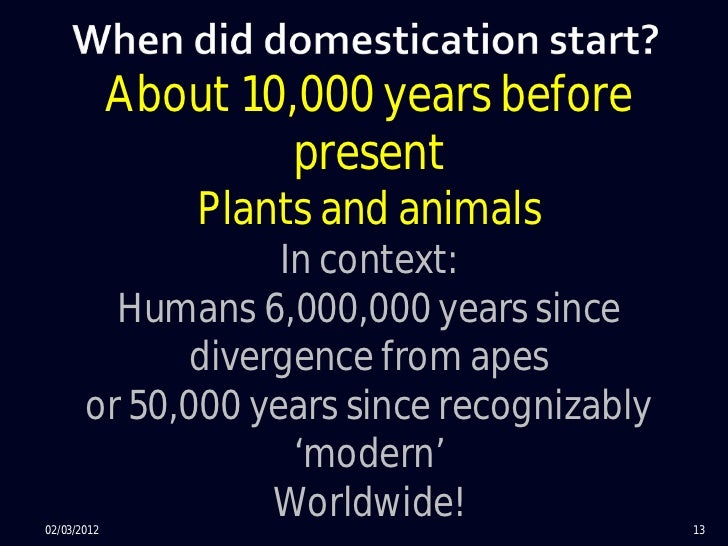 Genetic:¡ No seed dormancy¡ Determinate and synchronized growth¡ Gigantism in the harvested parts¡ No seed dispersal      ...