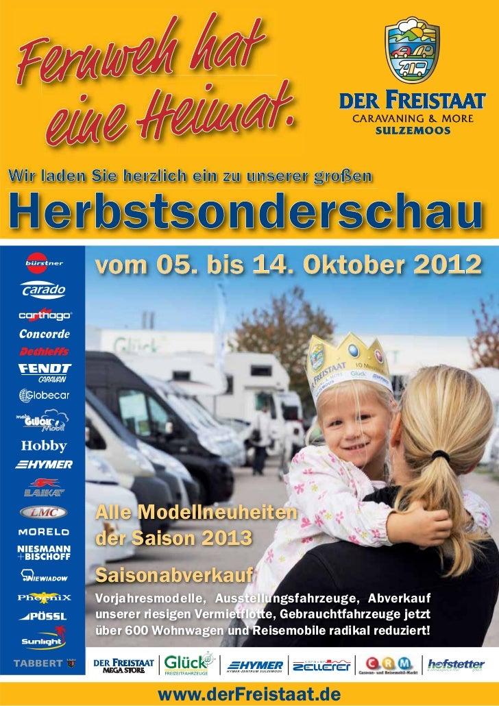 Alle Modellneuheitender Saison 2013SaisonabverkaufVorjahresmodelle, Ausstellungsfahrzeuge, Abverkaufunserer riesigen Vermi...