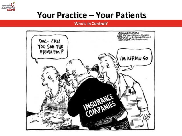 Who's in Control? Your Practice – Your PatientsYour Practice – Your Patients