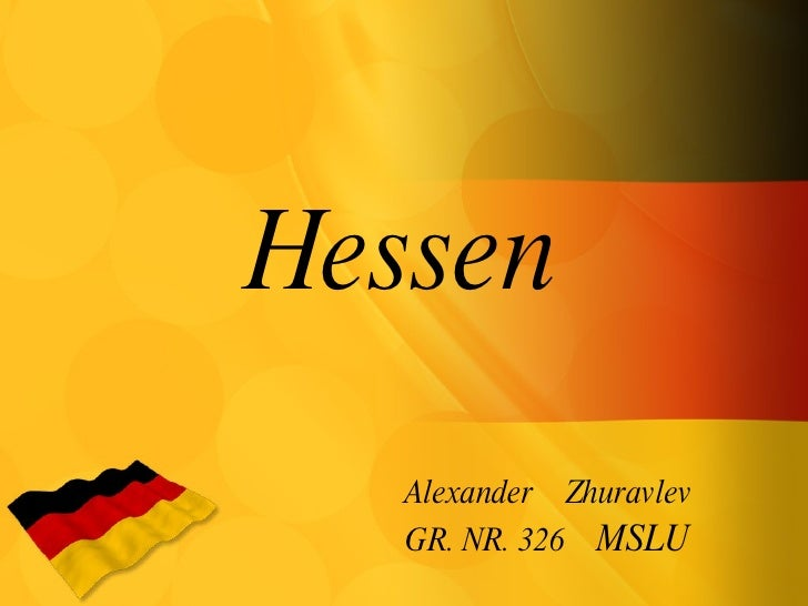 Hessen Alexander  Zhuravlev GR. NR. 326  MSLU