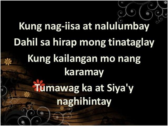 TSUPER NG BUHAY Lyrics PAPURI SINGERS