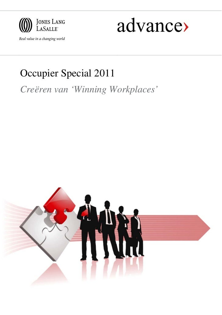 Occupier Special 2011Creëren van 'Winning Workplaces'