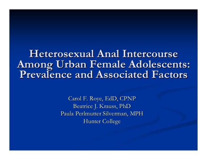 Heterosexual anal sex how to